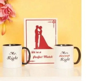 Right Couple - Mug and Designer Greeting Card