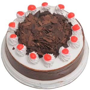 Black Forest With Cherry   1/2 kg