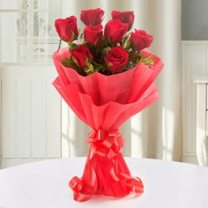 Red Rose Bunch - 8