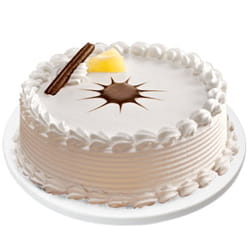 This Soothing-of-Sugar 1 Lb Vanilla Cake can serve as a splendid messenger of your cherished emotions to a woman who has dazed your heart and thus can make feelings be born between you two..jpg